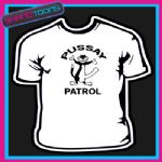 PUSSAY PATROL TV MOVIE FUNNY LADS STAG SLOGAN NOVELTY TSHIRT